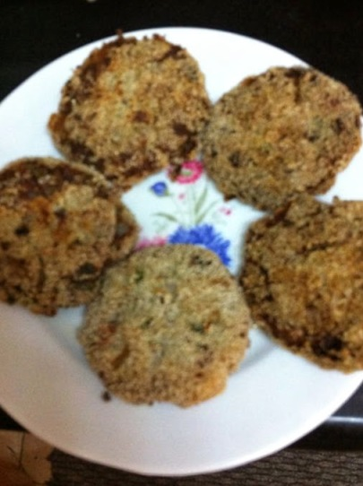 rawBanana&muttonCutlets